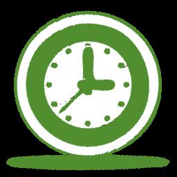 green-clock-icon