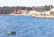 kontejner u moru