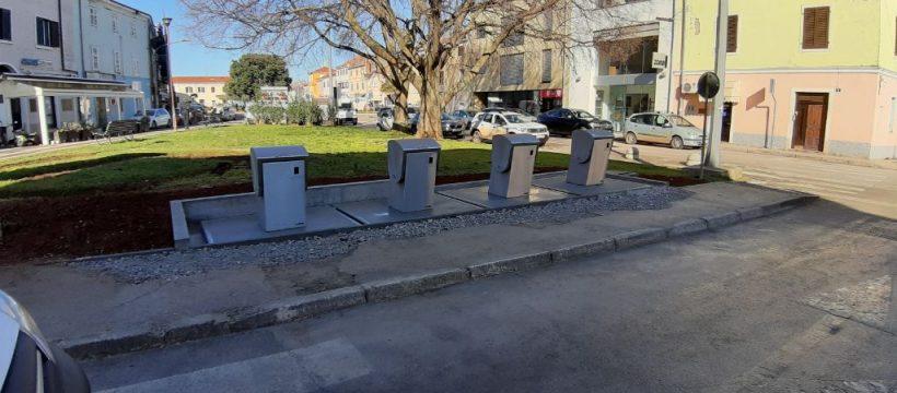 Prvomajska ulica- novi podzemni spremnici